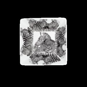 Servizio fotografico Prodotti Catalogo E-Commerce Taitù Milano Collezione Wild Spirit Porcellana Fine Bone China Ciotola quadrata Zebra