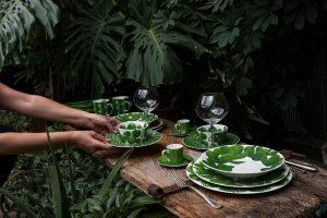 Servizio fotografico Taitù Milano Collezione Cactus Porcellana Fine Bone China